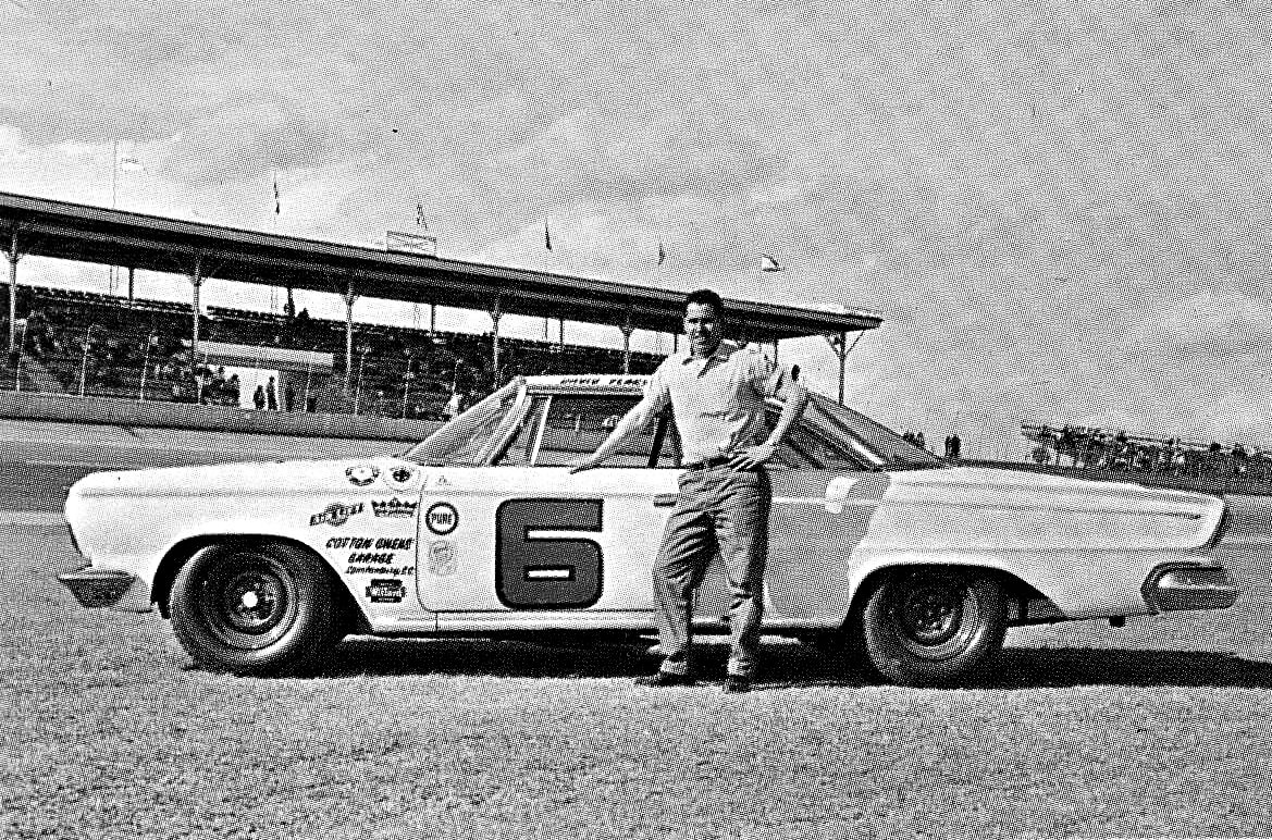 David Pearson racing NASCAR driver