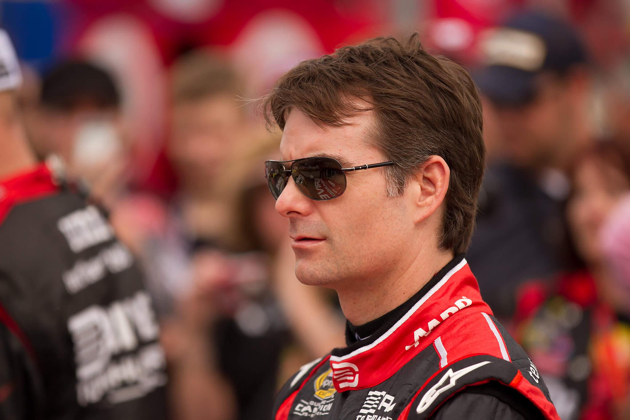 Jeff Gordon racing NASCAR driver