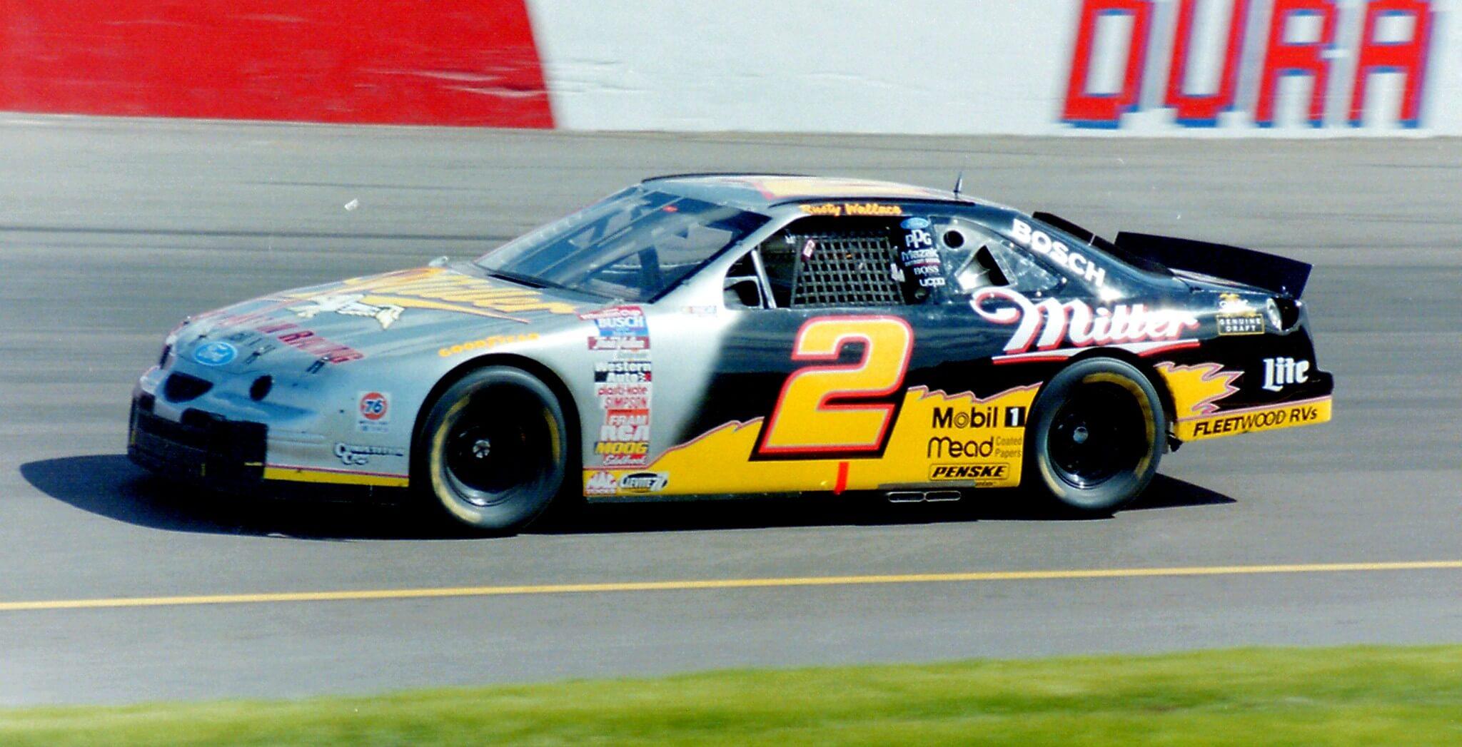 Rusty Wallace NASCAR driver
