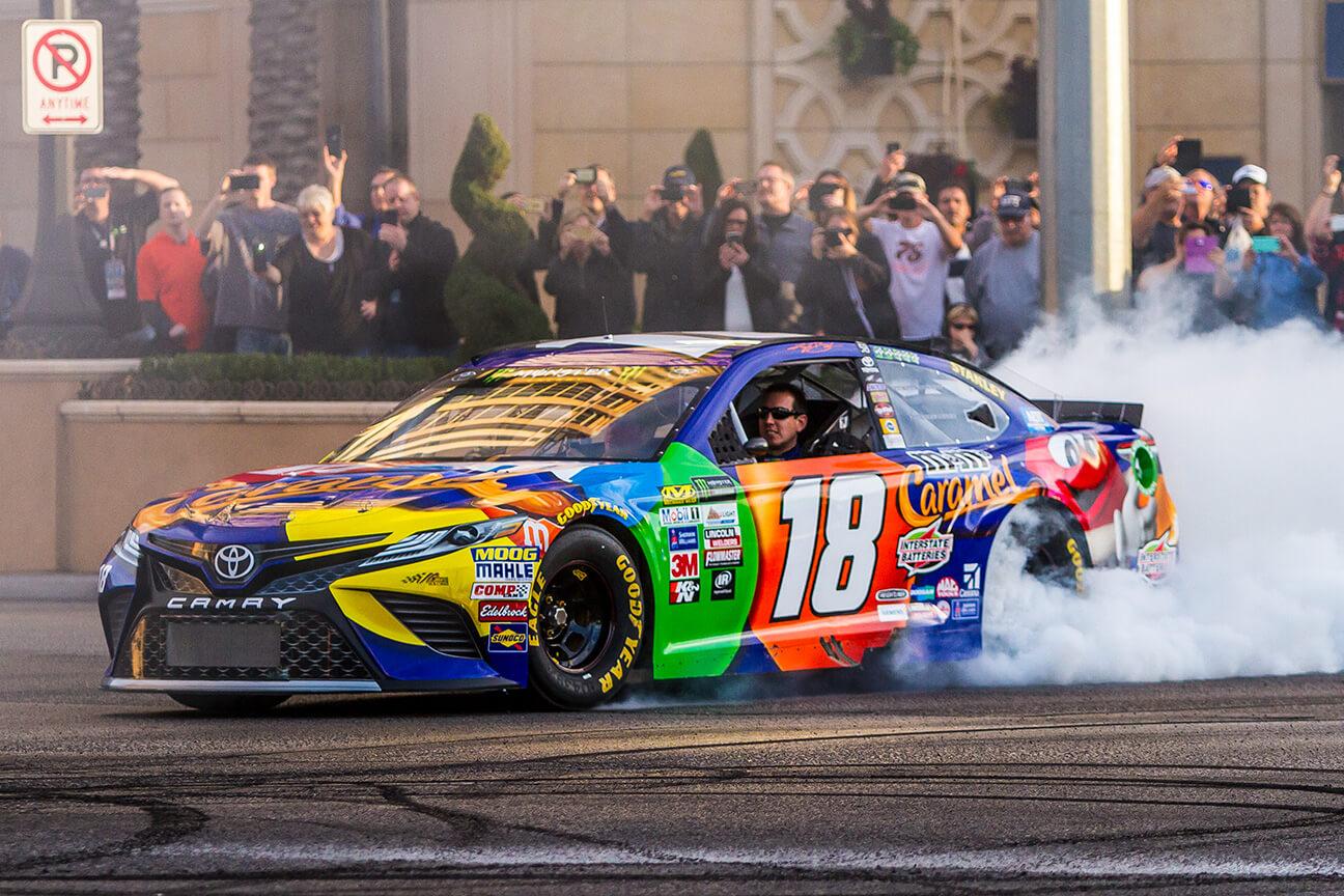 Kyle Busch NASCAR driver