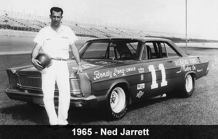Ned Jarrett NASCAR driver