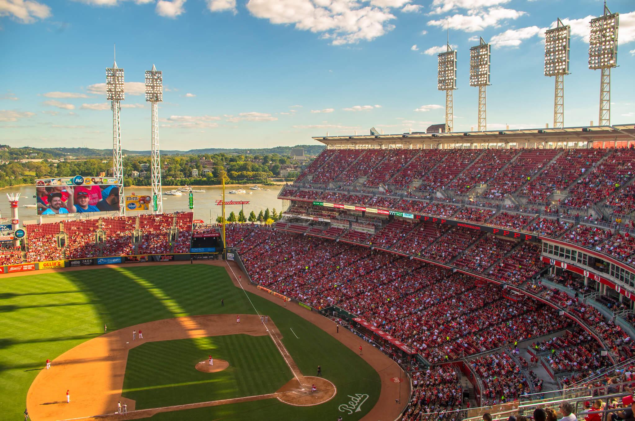 Comerica Park ballpark baseball